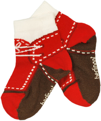 "Red ""Shoe"" Socks - Tres Chic"