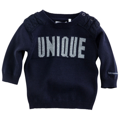 Unique Navy Pullover - Funky Navy