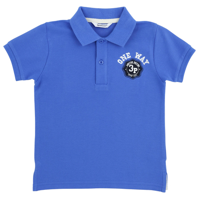Electric Blue Polo Shirt - VIP Boat