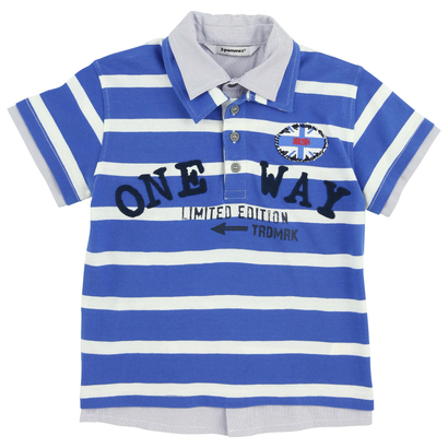 Bright Blue Polo Shirt- VIP Boat