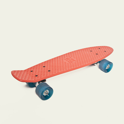 IKKS Coral Red Skateboard