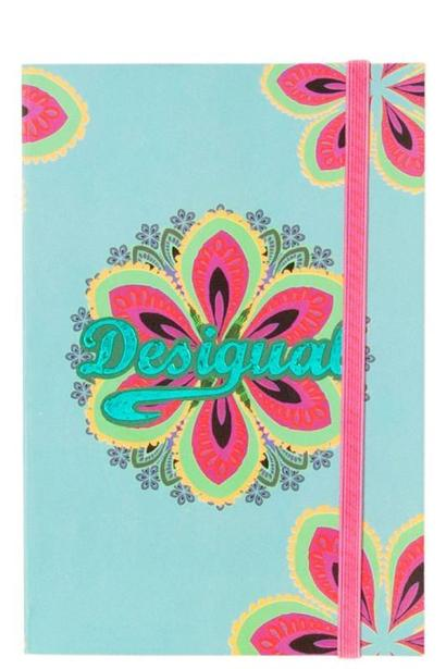 A5 Floral large notebook